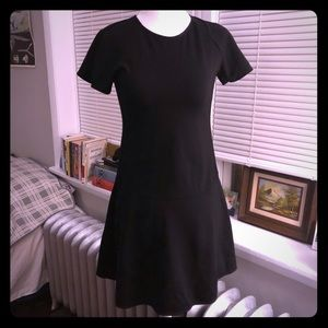 Uniqlo skater fit and flare LBD
